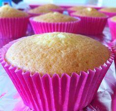 Cupcakes de Vainilla masa básica