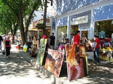 Old Strathcona Sidewalk Sale