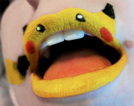 Pikachu Lips!