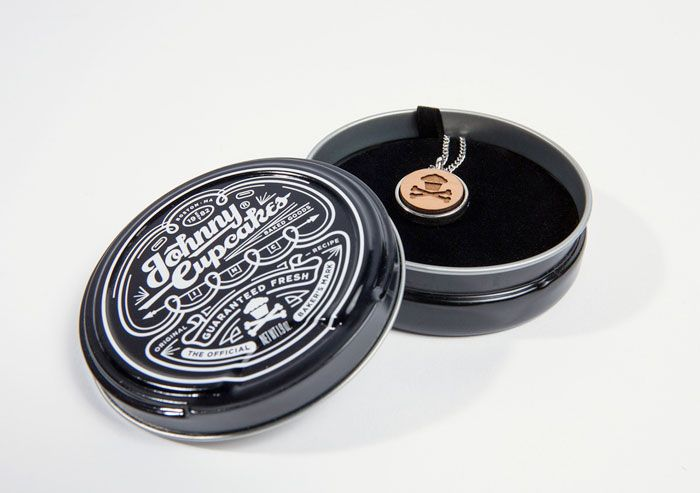 Johnny Cupcakes' AccessoriesTins - The Dieline -