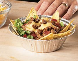 Build Your Own Nacho Bowls Bar Idea