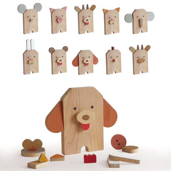 Amazing wooden toys by Shusha