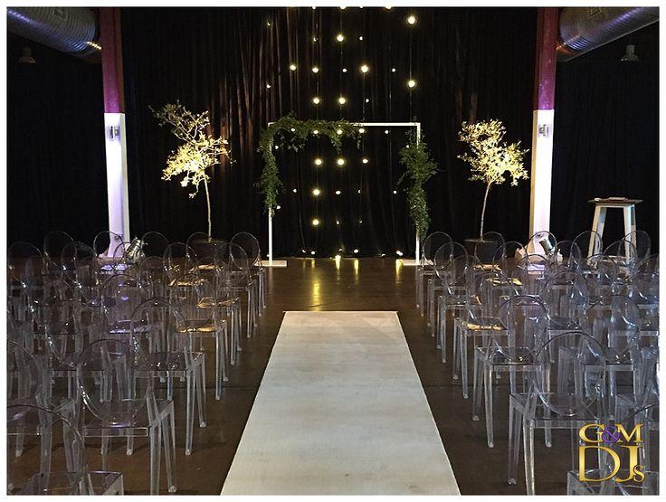 Tashia & Newon Ceremony & Warehouse Reception at Lightspace | G&M DJs | Magnifique Weddings #gmdjs #magnifiqueweddings #weddinglighting #weddingdjbrisbane @gmdjs @lightspacebris