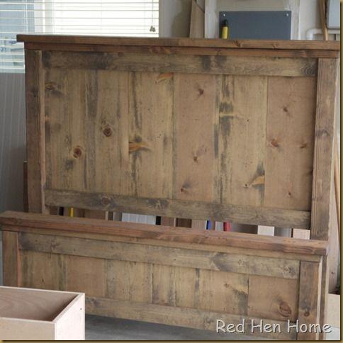 Red Hen Home Handbuilt Bedroom Bed 4 DIY Home Decor