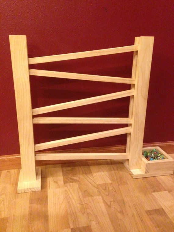 Handmade Wooden Marble Run By Packerbackers On Etsy Gift