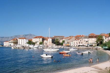 Postira, Brac Island, Croatia
