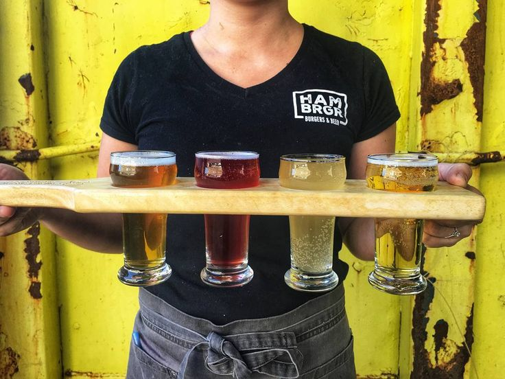 Our kinda flight- one without the airport hassle. @fairweatherbeer IPSO Facto (IPA Belgian) @nickelbrookbrewing One Eyed Stag collab (Grisette with lemongrass & blackberries) @ironwoodcider Screechin' Peach (Cider) @lagershed Lagershed (Original Lager)