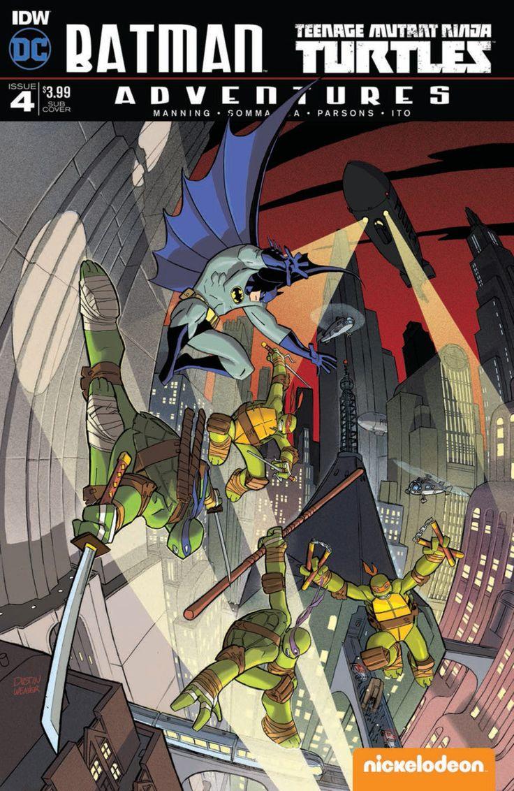DC Comics/IDW - Batman Teenage Mutant Ninja Turtles Adventures #4 - Subscription Cover