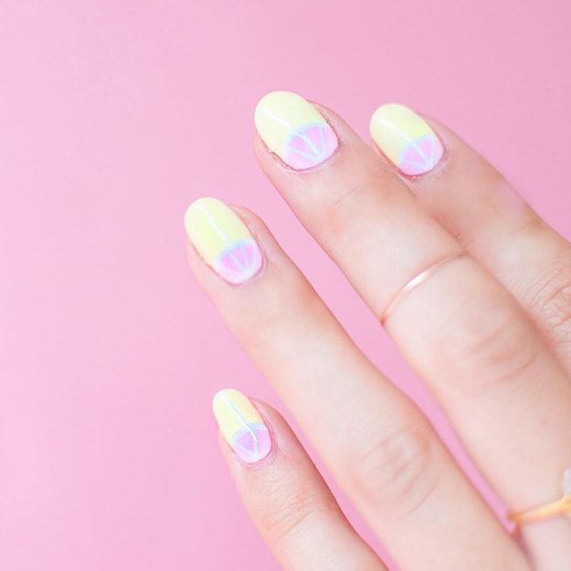 Sweet Grapefruit Nails To Enjoy For Any Season | Fruit nail art designs will always be in style! Check out these amazing tutorials that you can do for your next manicure.