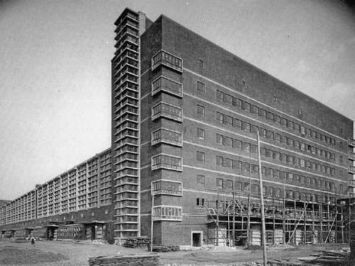 Großmarkthalle, Frankfurt am Main, Martin Elsaesser, 1926-28