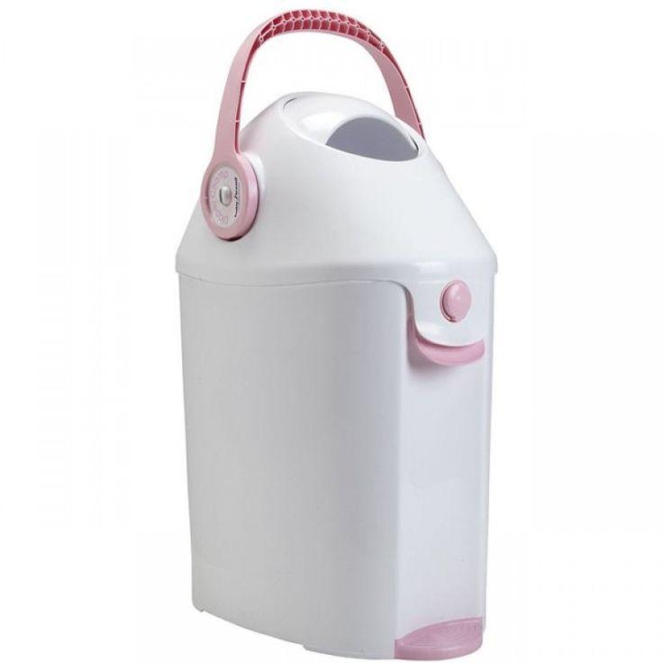 Diaper Champ Deluxe - Pink ($28)
