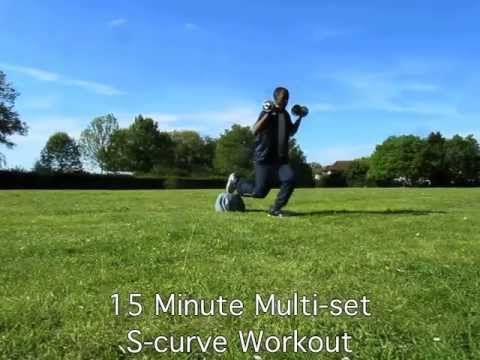 15 Minute Multi-set S-curve Workout (Jen selter)
