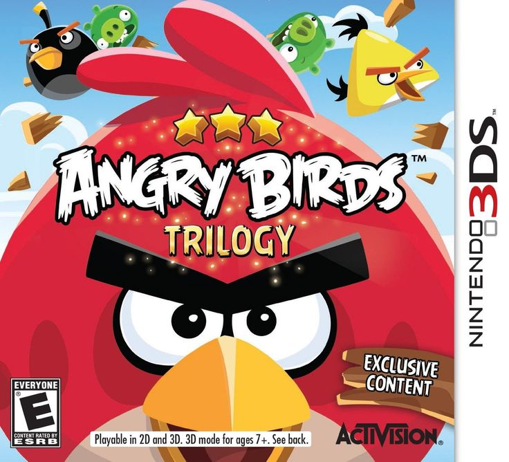 Angry Birds Trilogy - 3DS. Compra en línea fácil y seguro. www.kemik.gt #Kémik