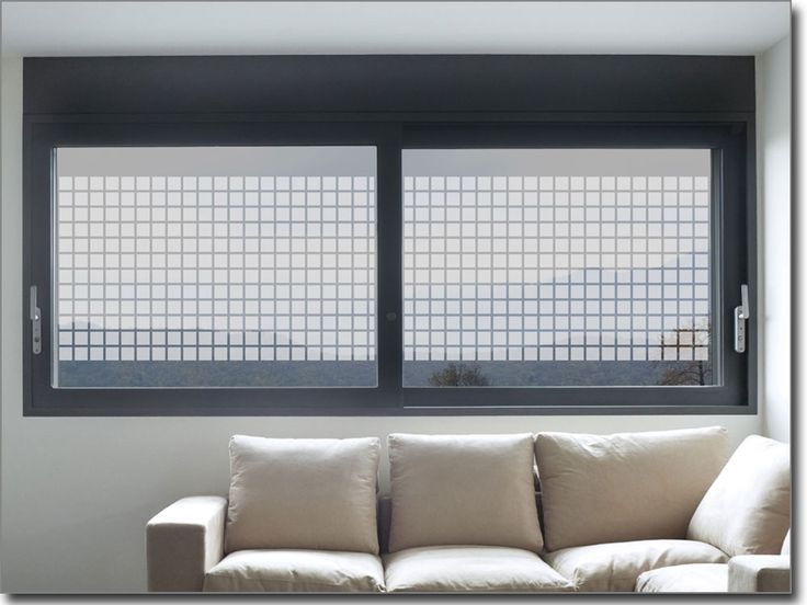 Folie für Fenster Quadrate