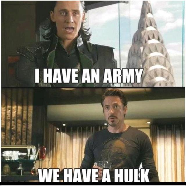 Avengers! I love it!