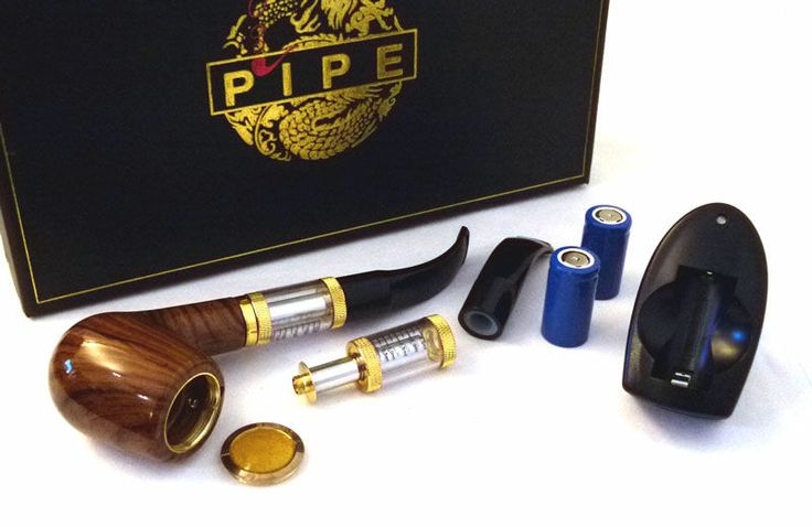 618 Pipe electronic vaporizer Set Series old-fashioned pipe style electronic