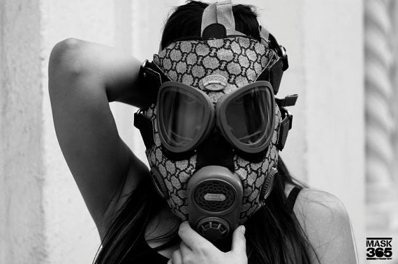 Gucci Gas Mask Purse by freehandprofit on Etsy, $750.00
