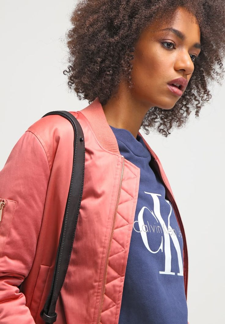 Soaked in Luxury LILJA - Bomber Jacket - brick dust for £90.00 (23/08/16) with…