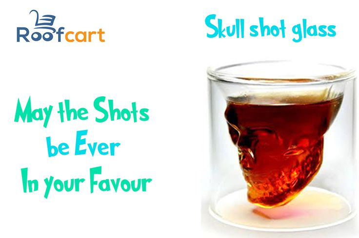 Party in Devil style with these Super cool skull shot glasses available at roofcart.com  Keep following #roofcart for more!