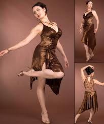 Another smashing costume tango dress from Latin Dance Ffashions