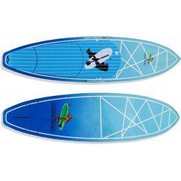"""Lower 8'6"""" x 30"""" x 4,5""""  Modelo para Sup Surf, com boa flutuação e estabilidade.   Bico estreito, rabeta squash, fundo com v-bottom e double concave, válvula de controle de pressão e setup para 5 quilhas encaixe fcs sendo que a central para quilhão.  Prancha ideal para ondas, pessoas de até 90kg de nível intermediário a avançado.  *Acompanha deck personalizado em EVA e jogo de quilhas - See more at…"""