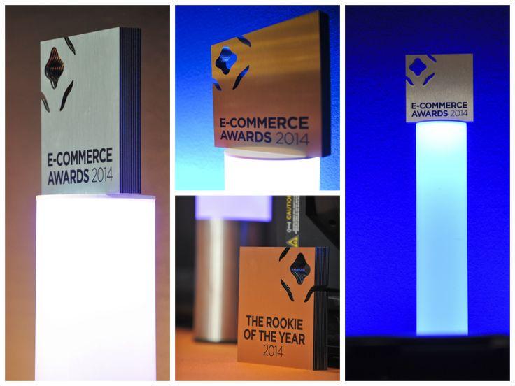 Les trophées E-Commerce #AWARDS #ECP14 attendent les gagnants... Crédit photo (c) Anne-Emmanuelle THION