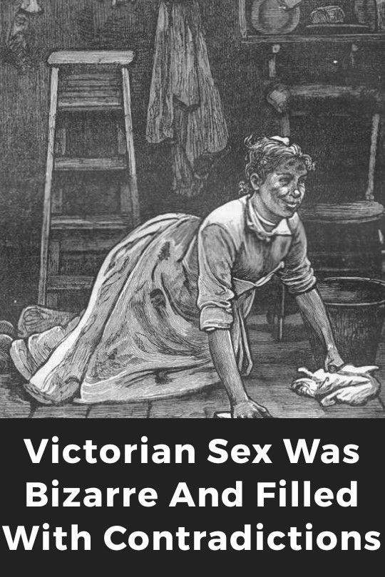We All That Know The Victorians Were A Bunch Of Uptight Prudes In