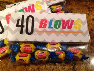 Larcie Bird: 40 blows {40th birthday party}
