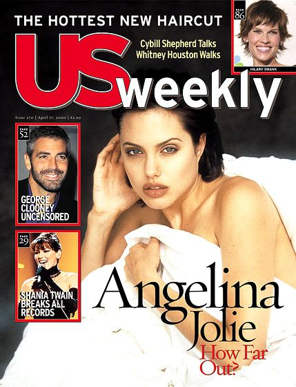 Angelina Jolie's Us Weekly Covers: April 17, 2000
