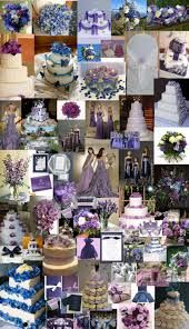 Image result for Light and dark blue wedding