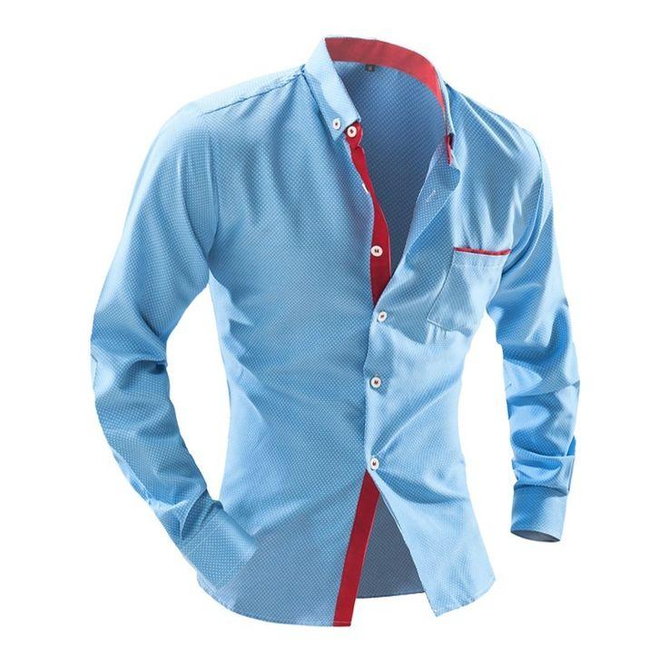 Camisa Social Slim Fit Moda Britânica