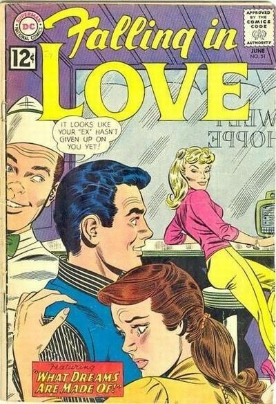 "20 Hilarious And Weird ""Falling In Love"" Comic Book Covers"