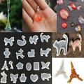 DIY Clear Silicone Mold Making Jewelry Pendant Resin Casting Mould Craft Tool LK