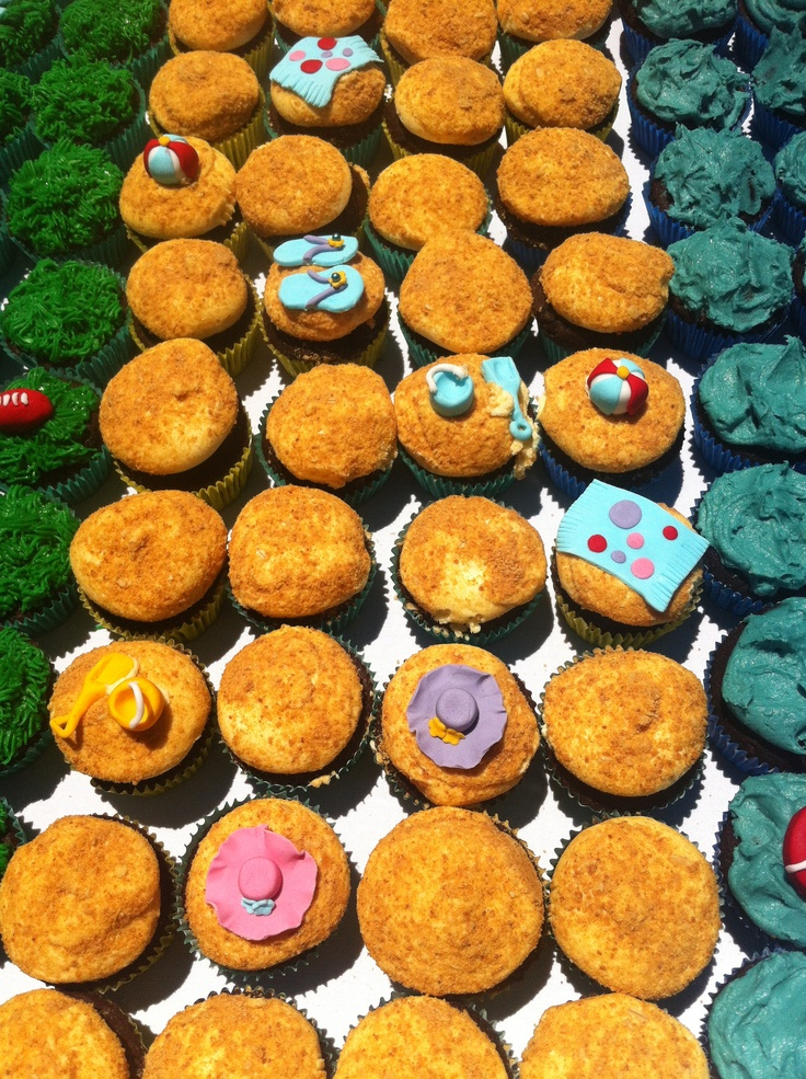 Cupcake birthday cake by Mummes Yummes! Happy Birthday St Kilda Playground #StKildaPlayground #Adelaide @City of Salisbury South Australia 11/11/12