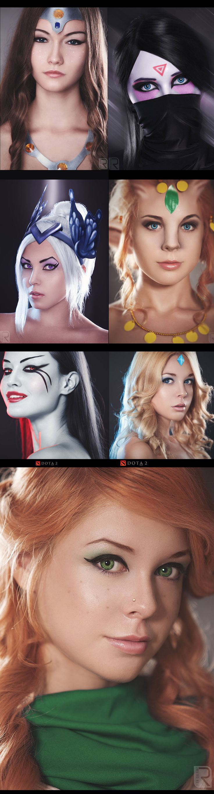 DOTA 2 Cosplay series from ringeka
