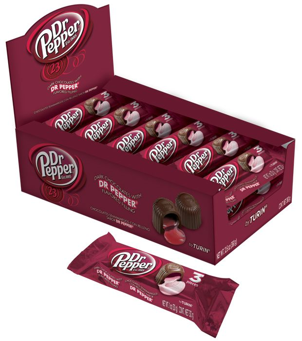 Turin Dr Pepper Flavored Chocolates