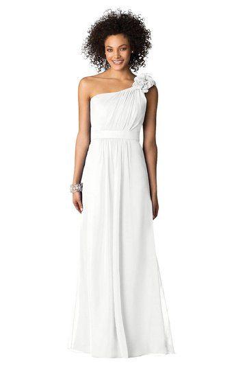 pretty one strap dress