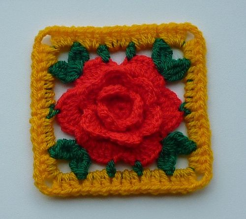 204 besten mycrochet roses/grannies&afghans Bilder auf Pinterest ...