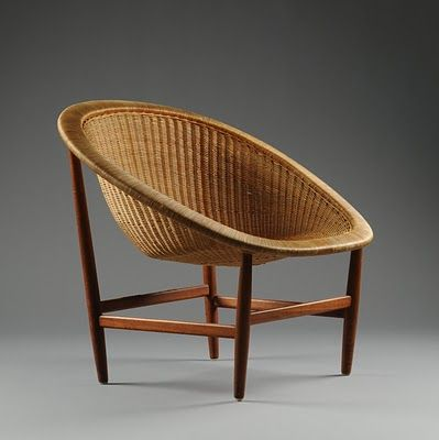 Nanna Ditzel / Basket Chair Newly Released By Kettal. Find This Pin And  More On Mid Century Design ...