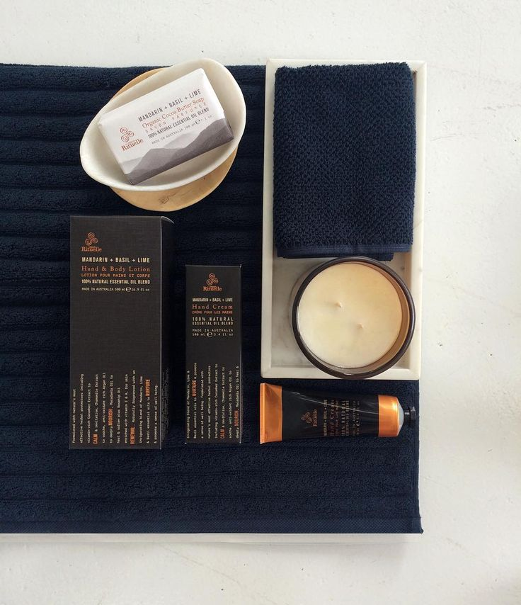 Navy in the bathroom is a great idea. Especially when in combination with the @urbanrituelle #equilibrium range. Featuring luxurious #bemboka #towels, #marble soap dish and tray. All currently available in store at #styletemple. Ph: 03 5975 7432