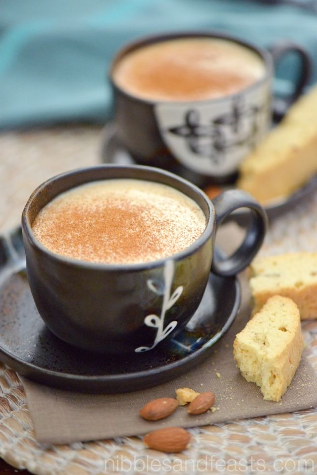 Atole Almendrado Almond Atole: Serves 6-8 Ingredients 5 cups milk 2 (4-inch) cinnamon sticks 1 cup corn flour (I used Maseca) 1 (8-ounce) piloncillo cone, crushed in small pieces 3/4 cup Jif Almond Butter, Crunchy ground cinnamon for garnish