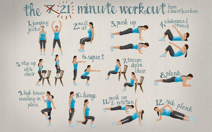 Een korte workout – even tussendoor – is de perfecte …