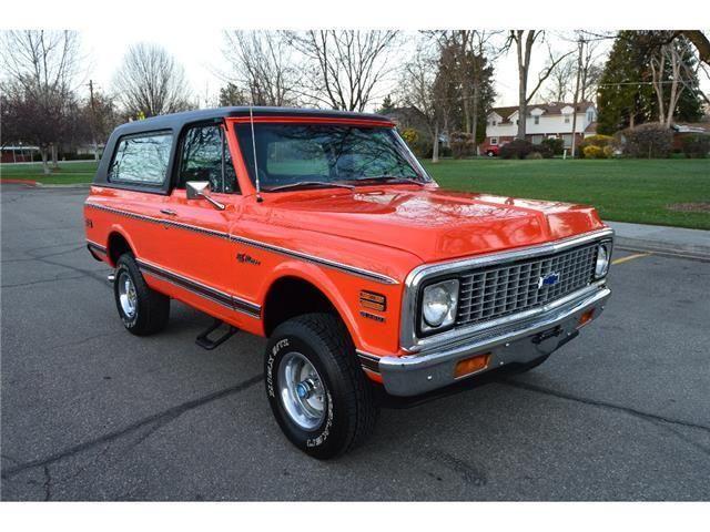 1972 Chevrolet Blazer -- | eBay Motors, Cars & Trucks, Chevrolet | eBay!