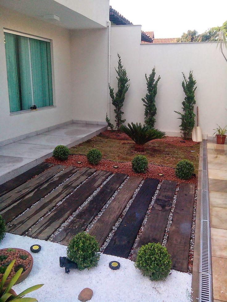 iluminacao embutida jardim: de dormentes,cica e kaizukas e iluminação embutida de solo blindada