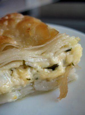 sou boreg (armenian buttered & cheesy layered pastry)