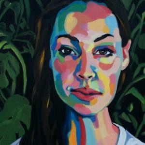 "Saatchi Art Artist Emma Tingård; Painting, ""Into the Woods"" #art"
