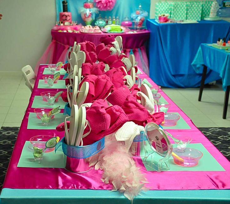 Spa party Birthday Party Ideas | Photo 8 of 35 | Catch My Party