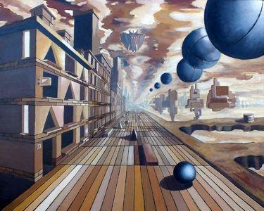 """Saatchi Online Artist marek izydorczyk; Painting, """"2011"""" #art"""