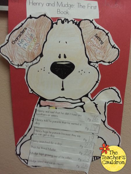 Henry and Mudge sequencing activity