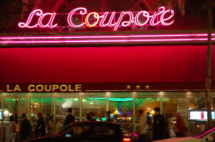 La Coupole: Paris, France (I think I remember a waiter using roller skates. Is that possible?)